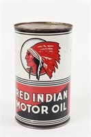 RED INDIAN MOTOR OIL IMPERIAL QT. CAN