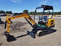 2021 Cougar CG18 Hydraulic Excavator