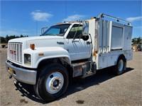 1992 GMC Topkick 13' S/A Service Truck