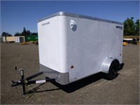 2021 Royal 10' S/A Enclosed Utility Trailer