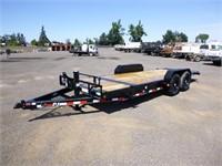 2022 PJ 20' Tilt Deck Equipment Trailer