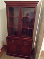 Drexel small china cabinet