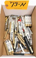 LOT CARBIDE & H.S.S TOOLING (*See Photo)