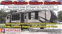 Multi-Estate Auction - ends 8/10/21