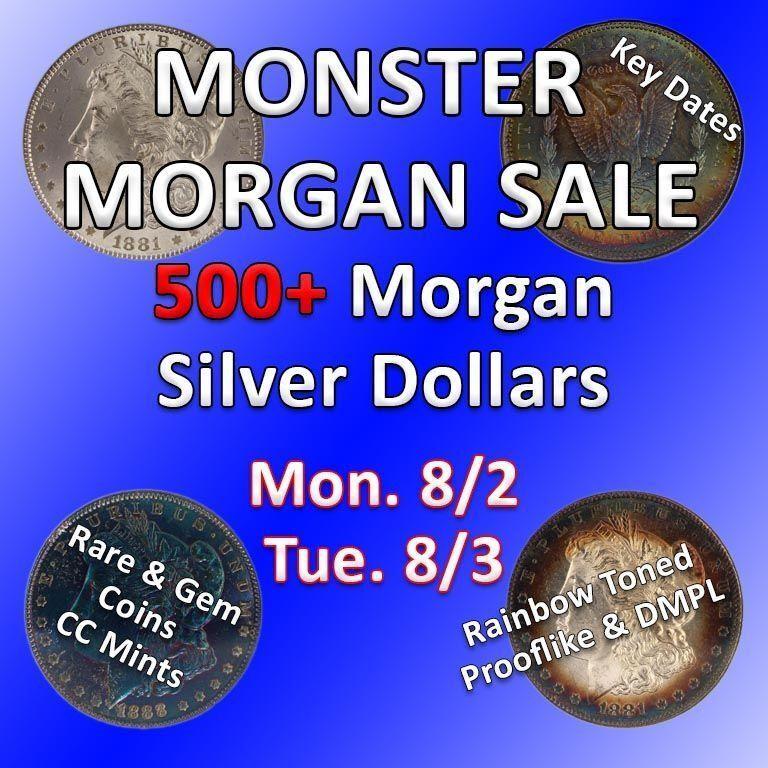 "Morgan Mega Sale 300+ Silver Dollars ""The Big One"" Part 2"