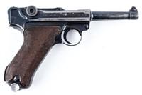 GUN Capture P08 Luger w/ Capture Papers Semi Auto
