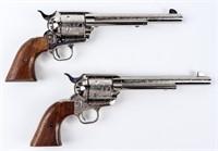 Gun Pair of Colt 2nd Gen SAA Tombstone Centennial