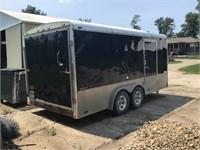 2013 Continental cargo trailer 8 x 16 torsion axle