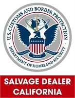 U.S. Customs & Border Protection (Salvage) 8/9/2021 Cali