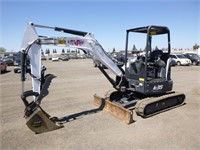 2017 Bobcat E35i Hydraulic Excavator