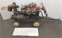 2 Army Air Corps WWII drone motors with 1948