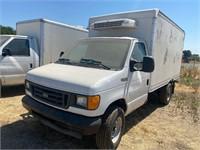 (2) Refrigerated Box Trucks
