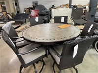 Makers Mark 7pc Balcony Dining set - Scratches
