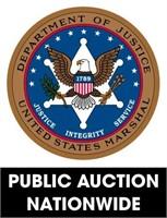 U.S. Marshals (nationwide) online auction ending 8/16/2021