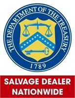 U.S. Treasury (Salvage Dealer Only) ending 8/23/2021