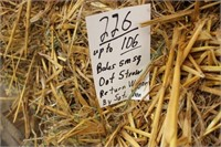 Hay, Bedding, Firewood Auction #31