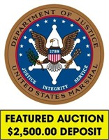 U.S. Marshals (Featured) online auction ending 8/16/2021