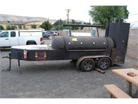 08-31-21 Online Auction - Commercial BBQ/Smoker - Lewiston