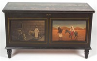 Numerous examples of folk art by Arthur Glazier (Pennsylvania, 1928-2015), from the estate of Lorren Lambert