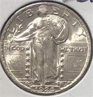 1926-D Standing Liberty Quarter - choice BU
