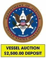 U.S. Marshals (Vessel) online auction ending 10/12/2021