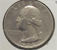 1932-S Washington Quarter XF Key date