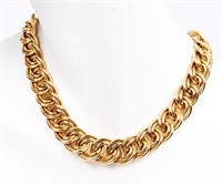 Jewelry 14kt Yellow Gold Heavy Chain Necklace