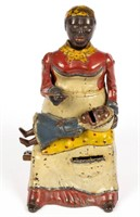 Mammy with Spoon cast-iron mechanical bank