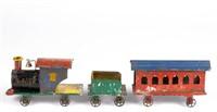 Selection of tin toys