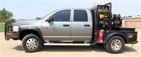 Lot 5002-  2008 Dodge Ram 2500 PK w/Welder, see catalog for more info & pics