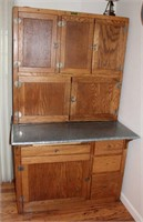 Lot 5004 - Hoosier Cabinet, see catalog for more info & pics