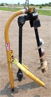 Lot 5007- Post Hole Digger, see catalog for more info & pics