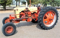 Lot 5012 - Case Tractor, see catalog for more info & pics