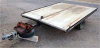 Lot 5015 - 1975 Ski-Kart Snow Mobile Trlr, see catalog for more info & pics