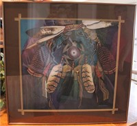 "Framed Donna Mares ""Set Free The Dream"" Print"