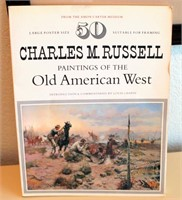 Charles M. Russell book of Old American West Pics