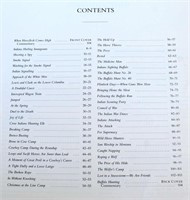 Charles M. Russell book (view 3 - Contents)