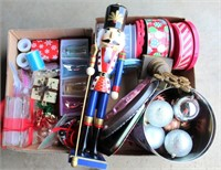 Misc Christmas, Nut Cracker, Ornaments, Etc