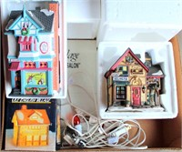 Christmas Village Pieces