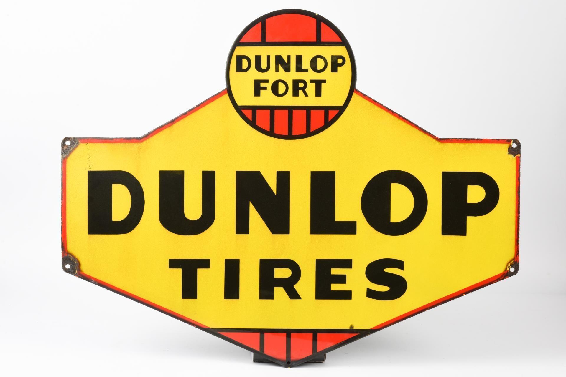 DUNLOP TIRES DUNLOP FORT SSP DIECUT SIGN
