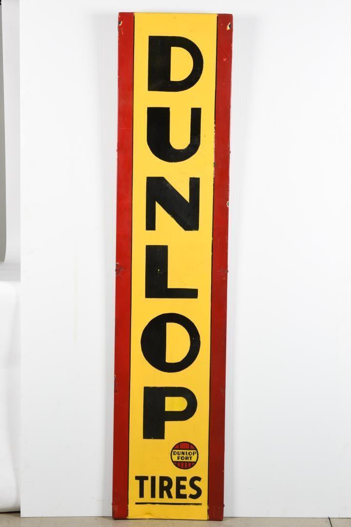 DUNLOP TIRES DUNLOP FORT SSP SIGN