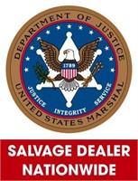 U.S. Marshals (Salvage Dealer Only) ending 9/13/2021