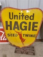 United Hagie Seed Twine Sign