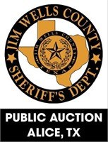 Jim Wells County Sheriff's Office online auction 8/30/2021