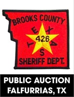 Brooks County Sheriff's Office online auction 8/30/2021