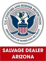 U.S. Customs & Border Protection (Salvage) 9/7/2021 Arizona