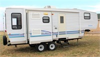 Lot 5001 - Sportsman 5th Whl Camp Trlr, Click catalog tab to view information & more pics of this item.  This item has absentee bidding.