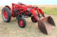 Lot 5002 - 1958 MF 50 Tractor, Click catalog tab to view information & more pics of this item.  This item has absentee bidding.