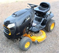 Lot 5005 - Poulan Pro Riding Mower, Click catalog tab to view information & more pics of this item.  This item has absentee bidding.