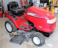 Lot 5006 - Craftsman Riding Mower, Click catalog tab to view information & more pics of this item.  This item has absentee bidding.